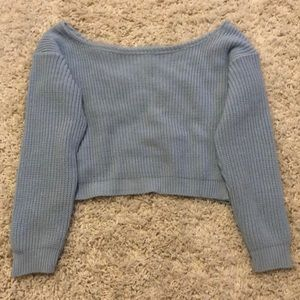 Sweaters - Missguided off the shoulder sweater